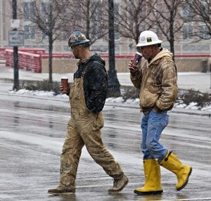insulated work boots for men
