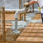working IN concrete