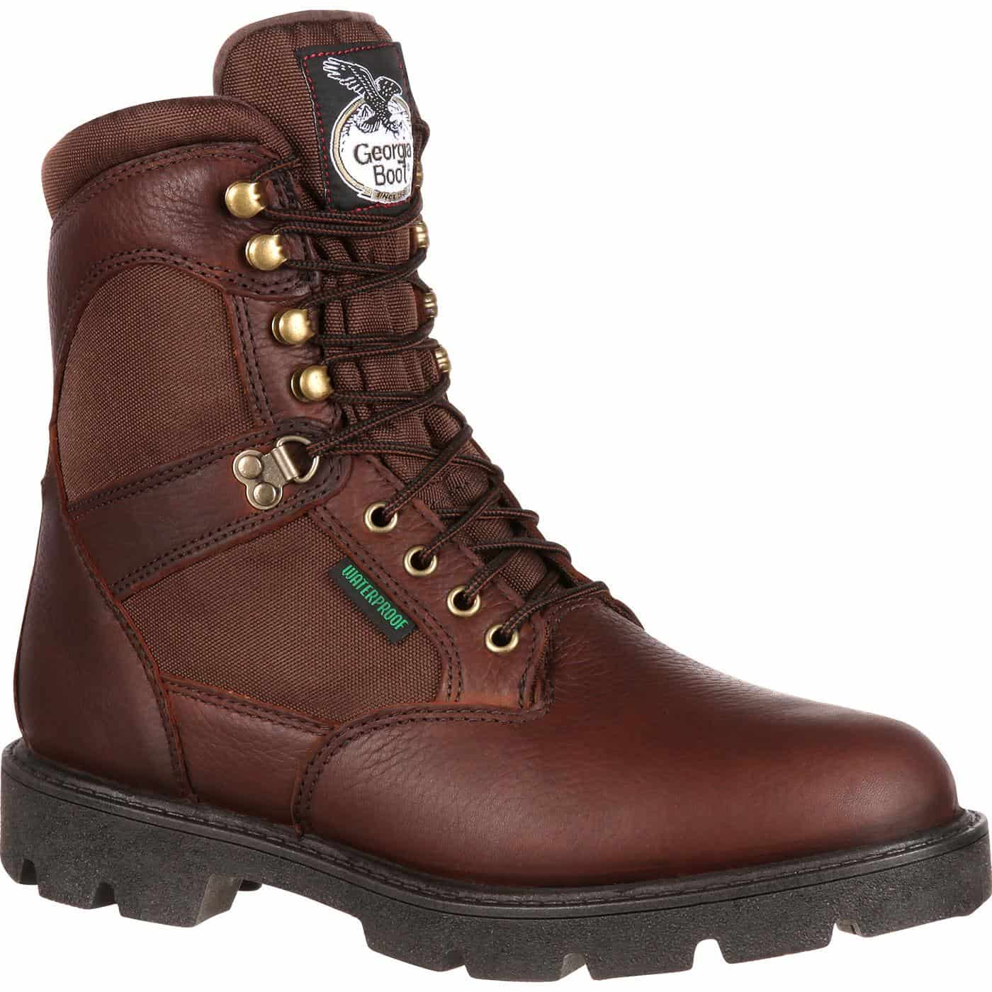 Georgia Boot Homeland Waterproof Insulated Work Boot: Is This a Good Insulated Pair?