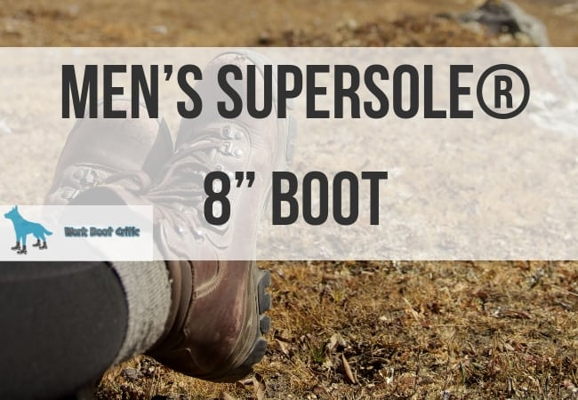Men's SuperSole® 8 inch Boot
